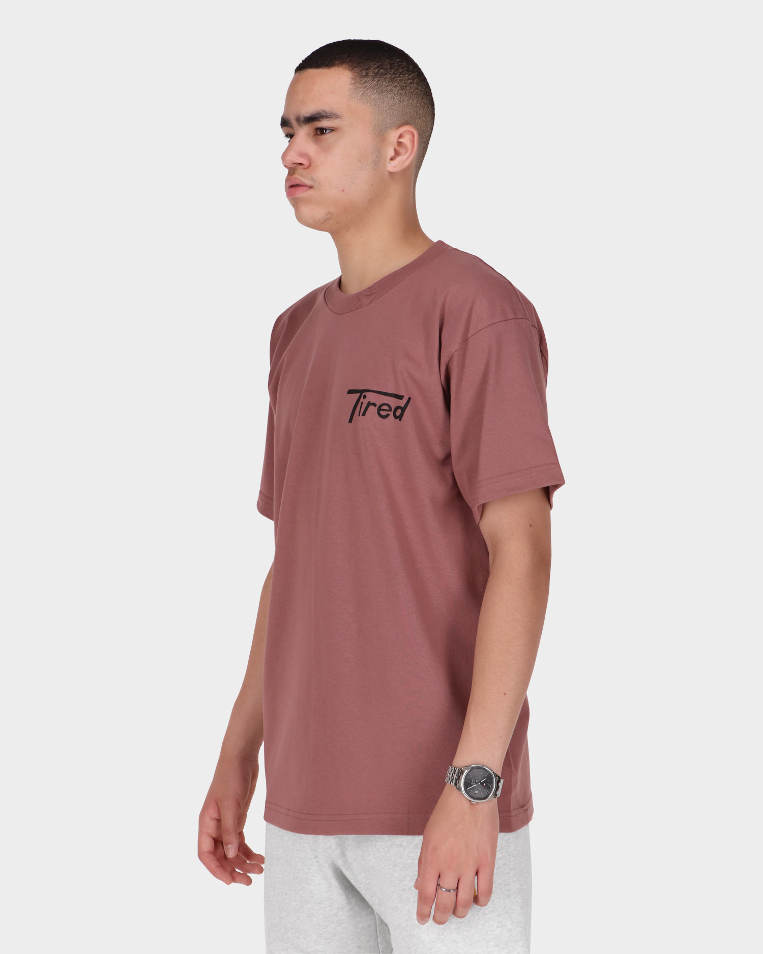 Tired Super Tired Shortsleeve T-Shirt Brick Red