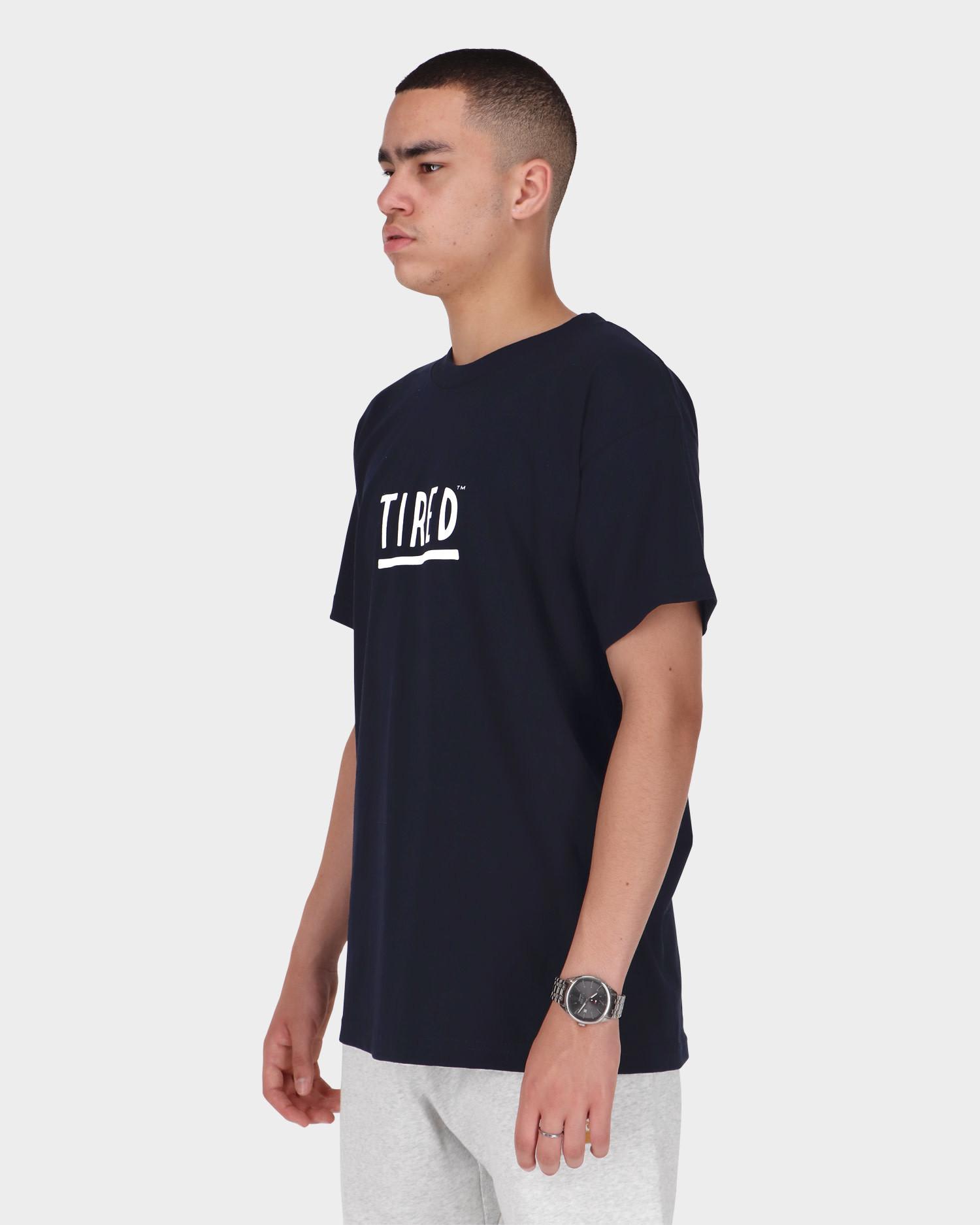 Tired Finger Shortsleeve T-Shirt Navy