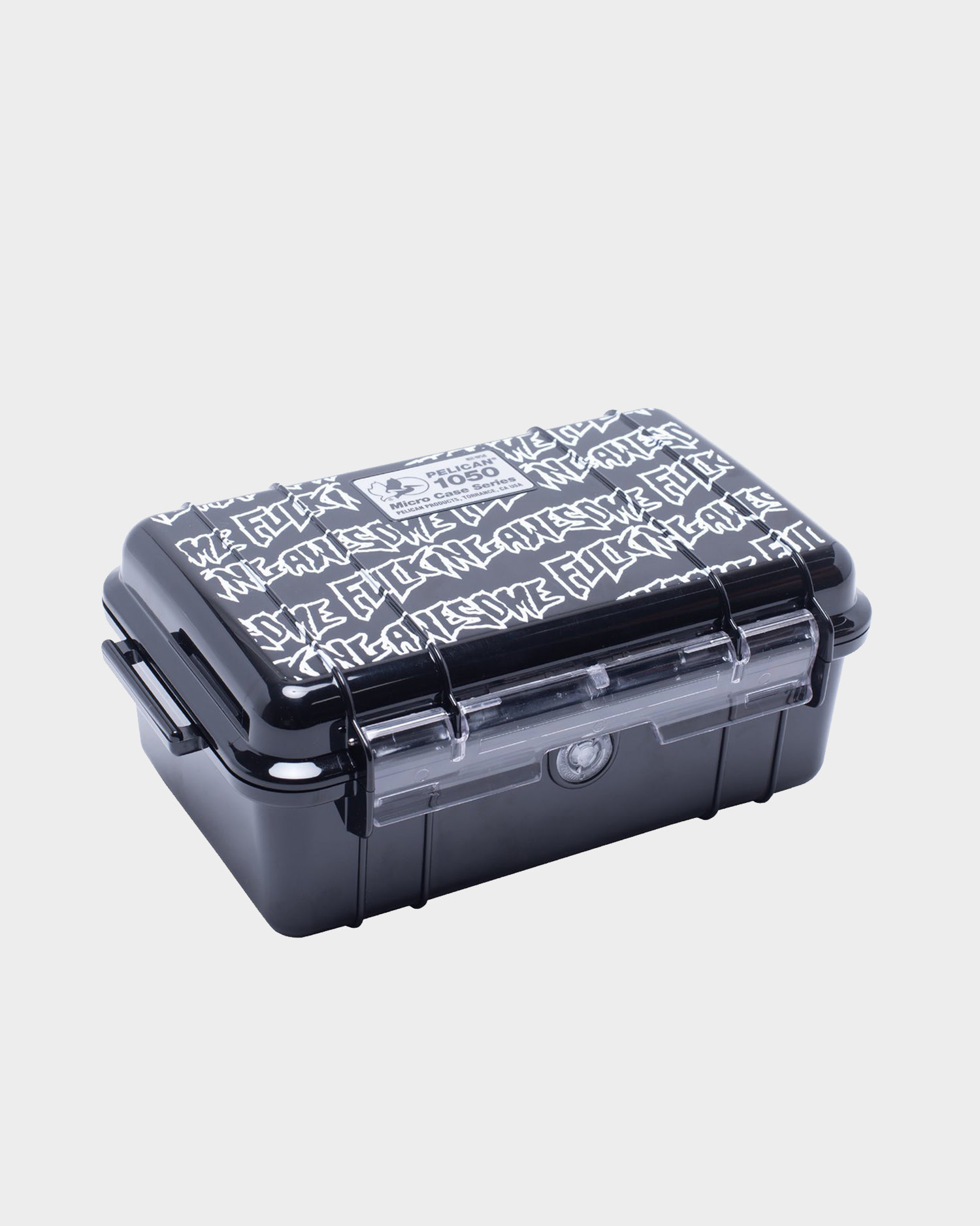 Fucking Awesome Stamp Pelican 1050 Micro Case Stamp Print
