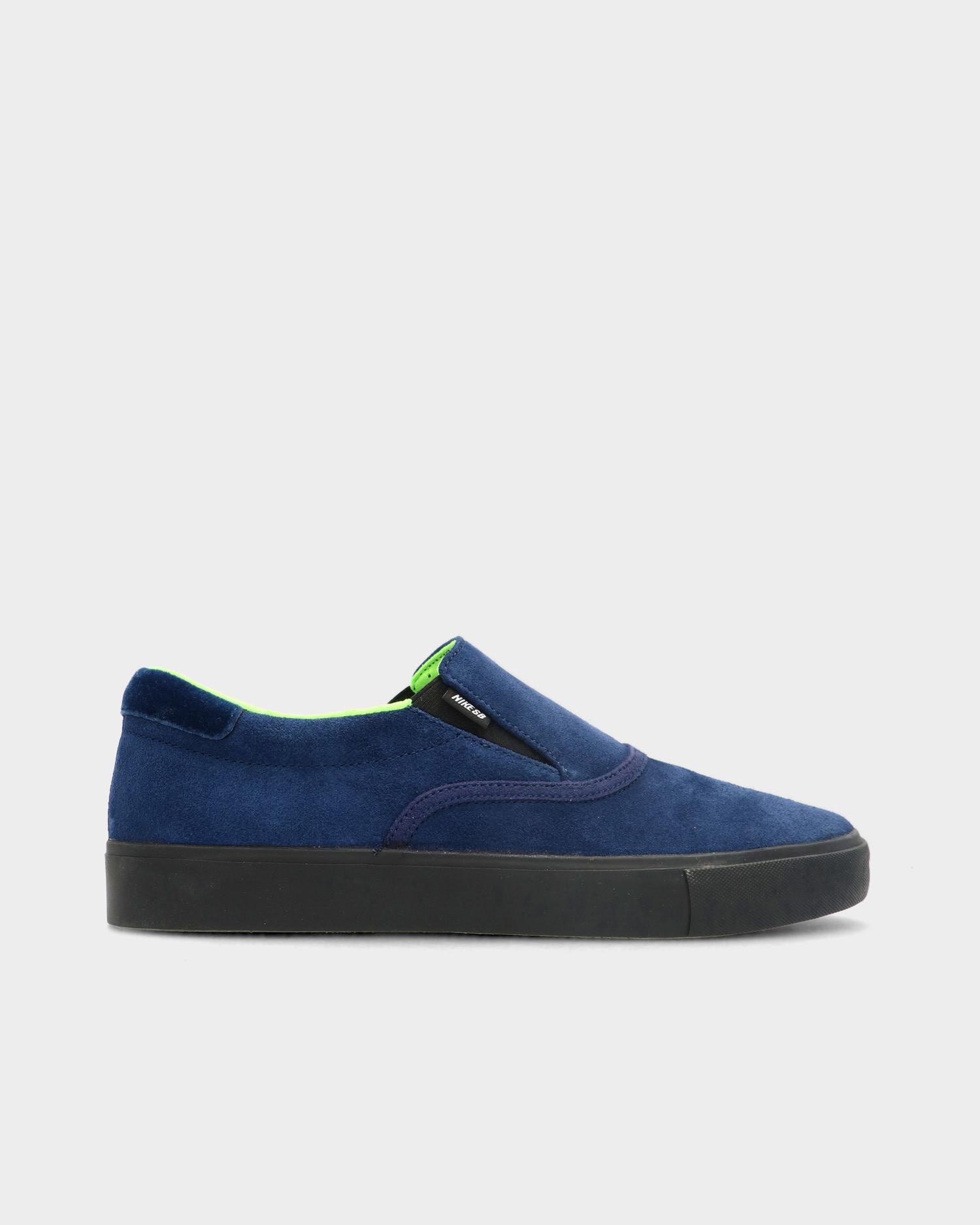 Nike SB Zoom Verona Slip Leo Blue Void/Black Blue Void