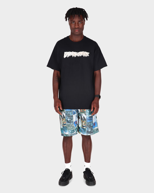 Fucking Awesome Fucking Awesome Frogman Collage Jersey Short All Over Print