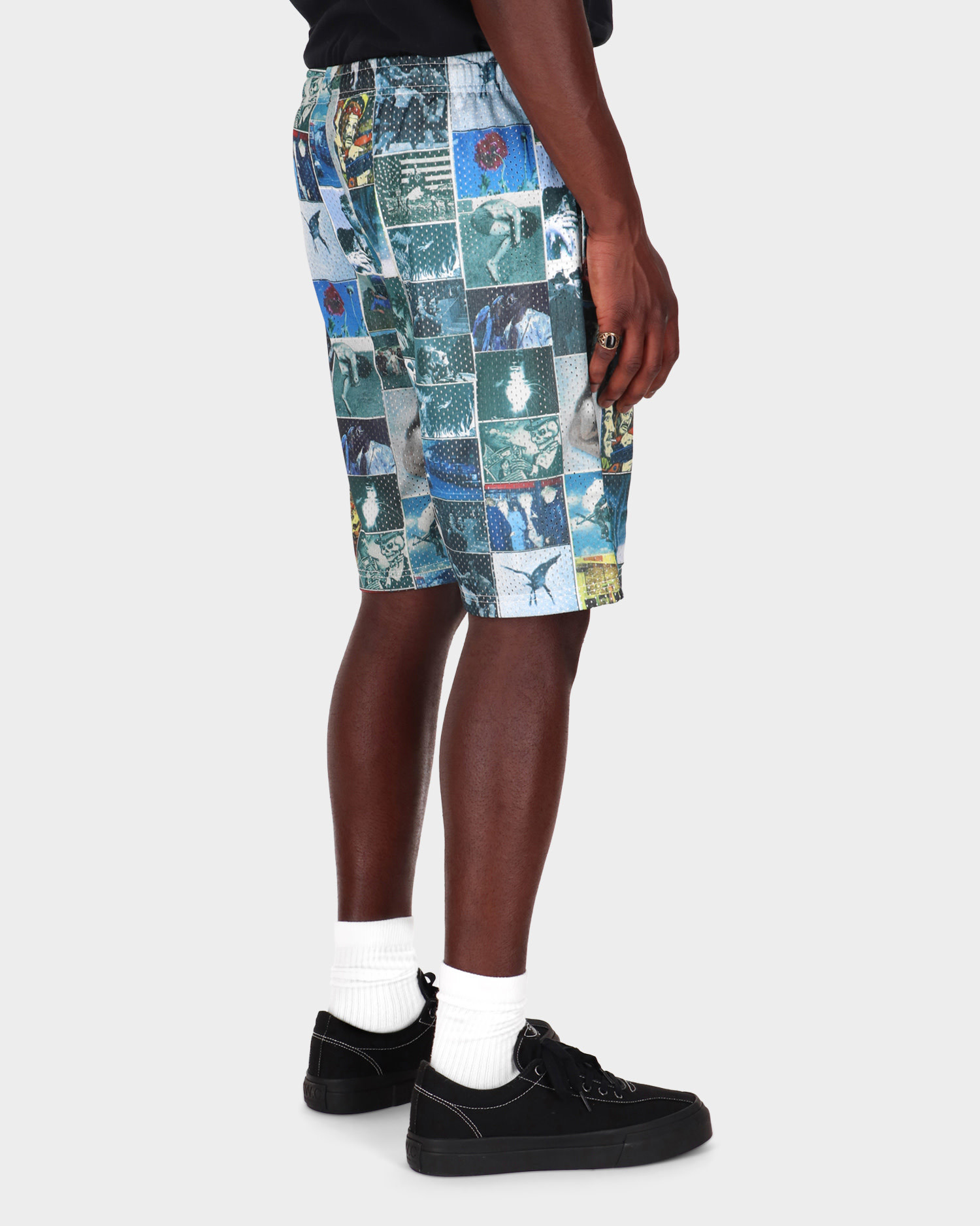 Fucking Awesome Frogman Collage Jersey Short All Over Print