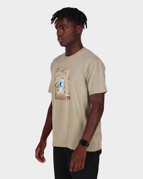 Fucking Awesome Fucking Awesome Dream Tunnel T-shirt Khaki