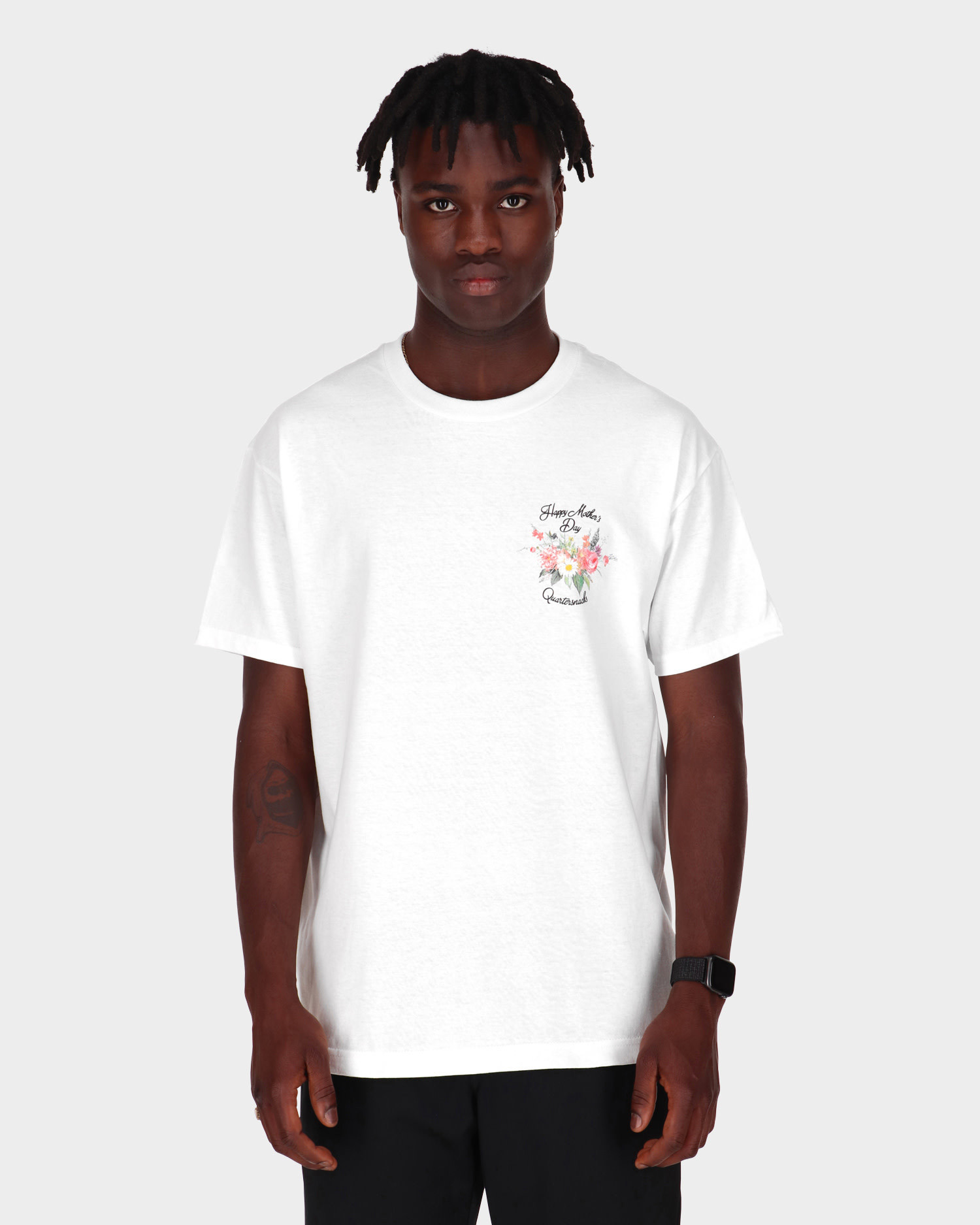 Quartersnacks Mother's day Snackman Charity Tee White