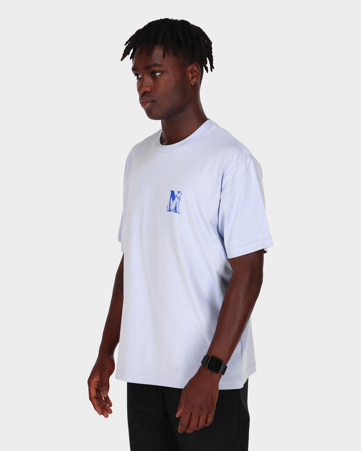 NO US Horse T-Shirt Baby Blue