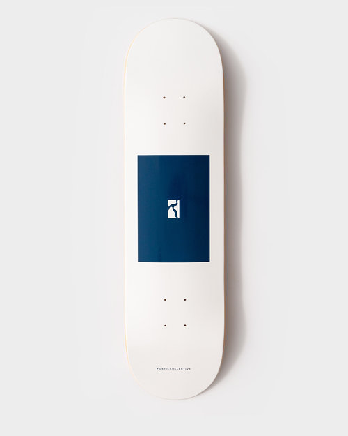 """Poetic Collective Poetic Collective Deck Box Board/Navy High Concave 8.125"""""""