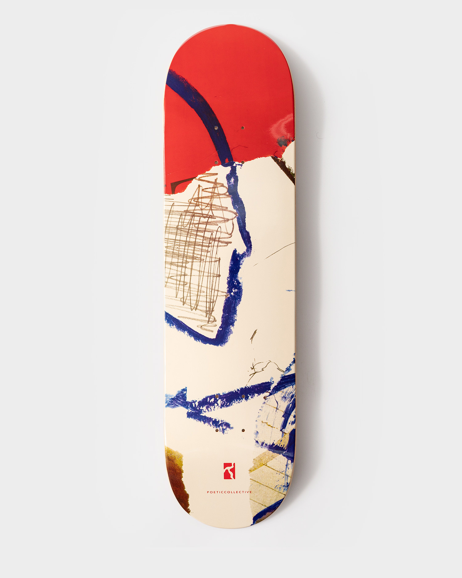 """Poetic Collective Deck Collage #2 High Concave 8.125"""""""