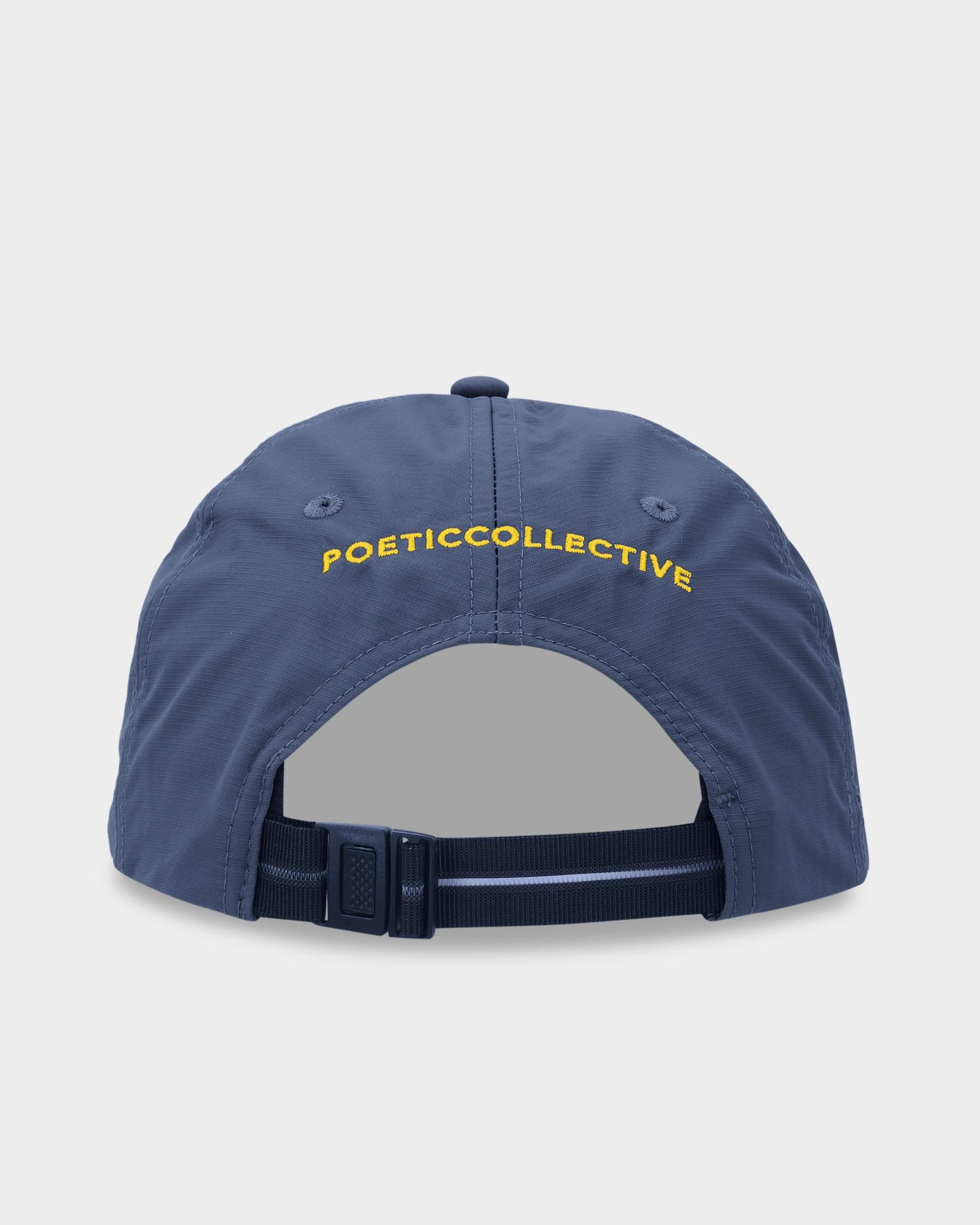 Poetic Collective Sport Cap Navy/Yellow