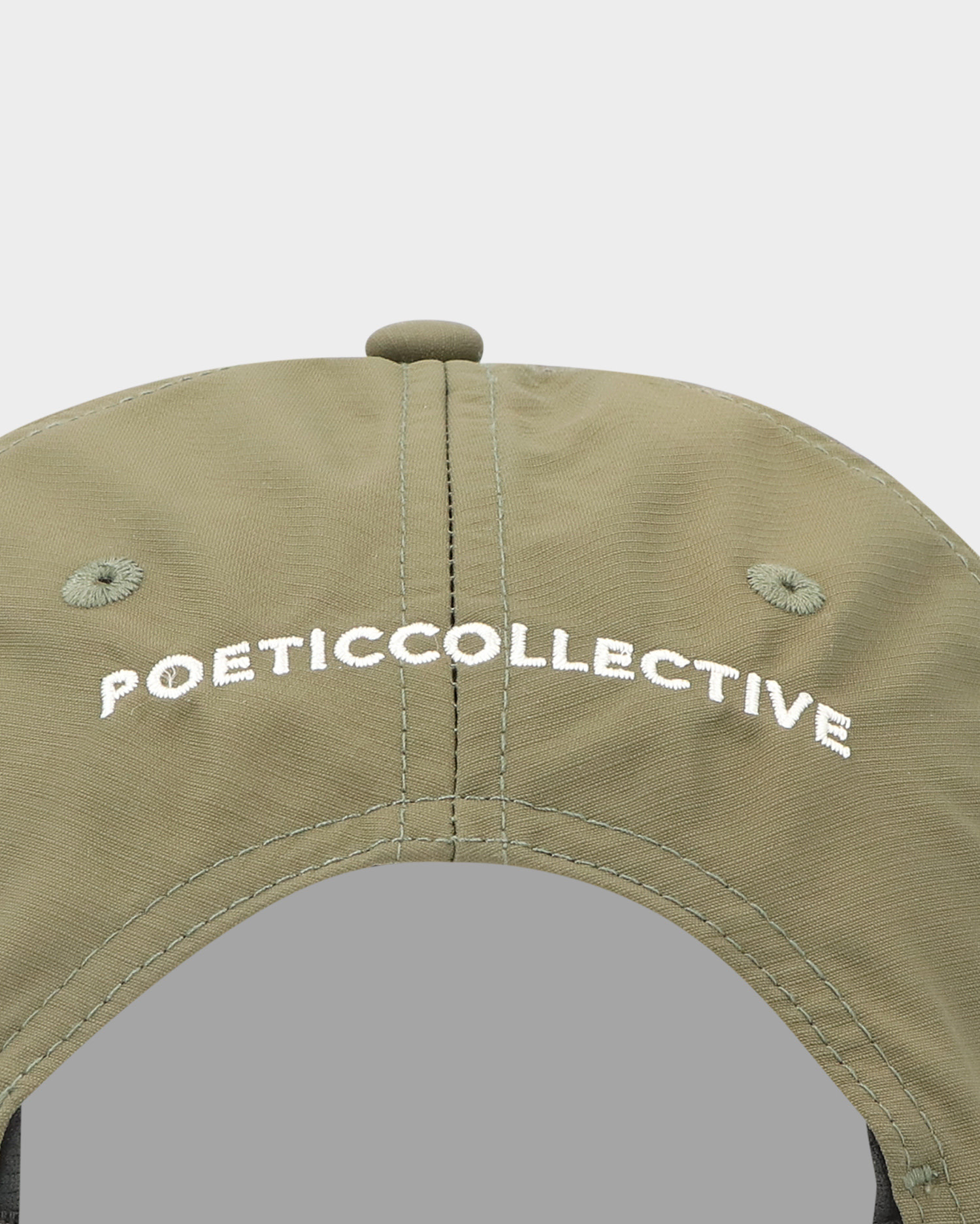 Poetic Collective Sport Cap Green/White