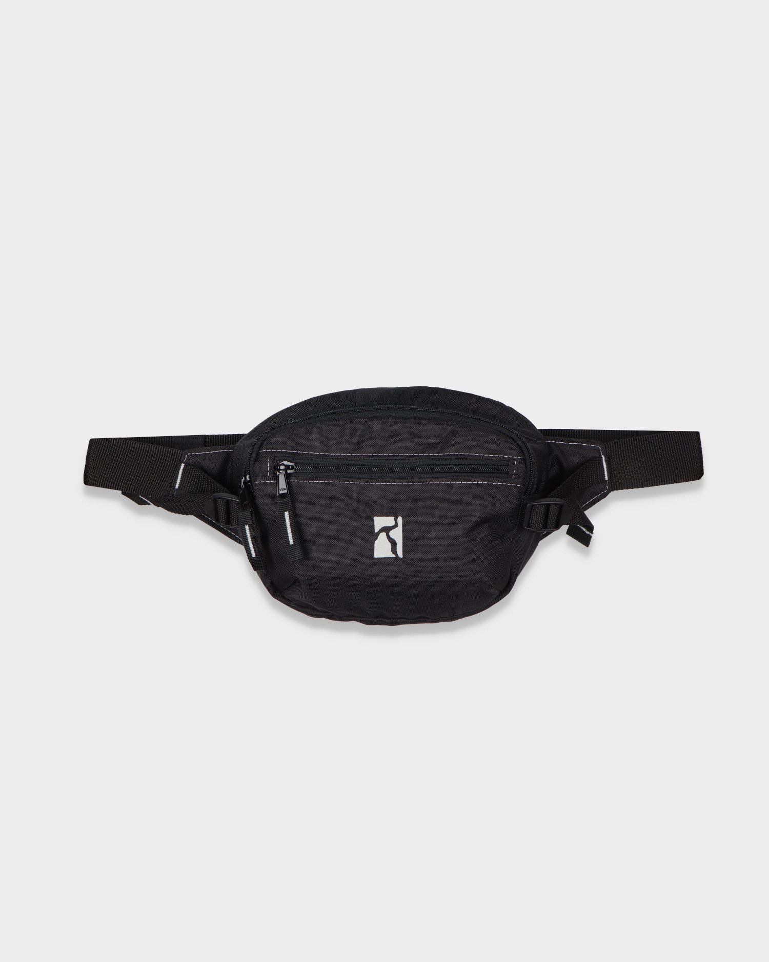 Poetic Collective Premium Belt Bag Black/White Seams