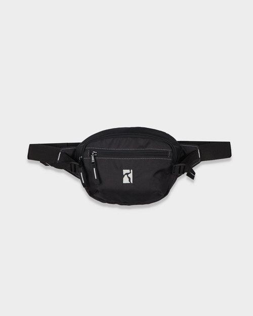 Poetic Collective Poetic Collective Premium Belt Bag Black/White Seams