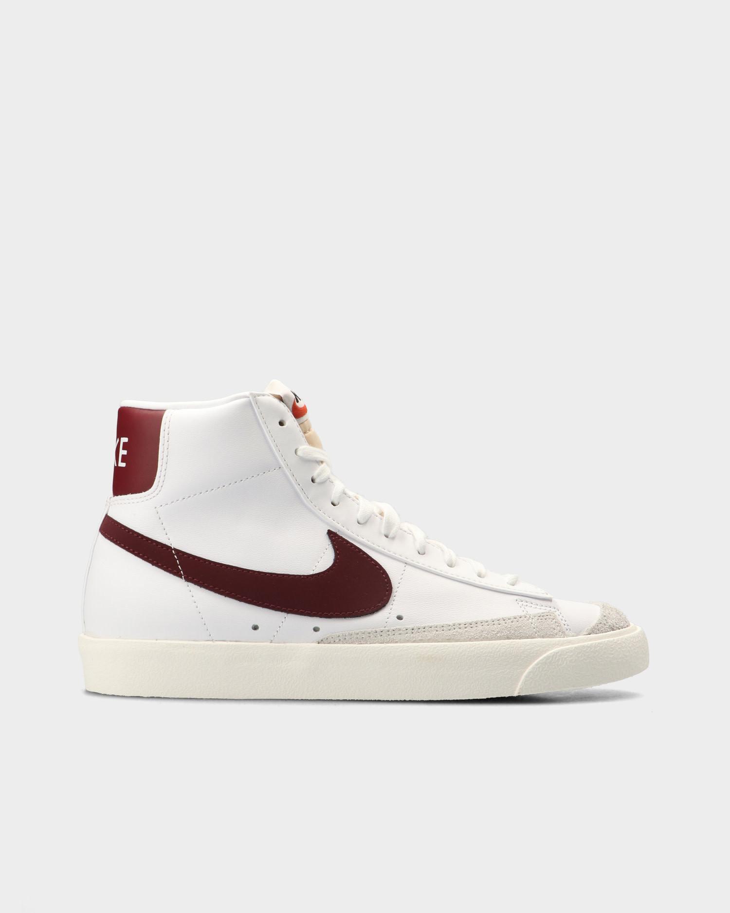 Nike Blazer Mid '77 Vintage White/Team Red-White Sail