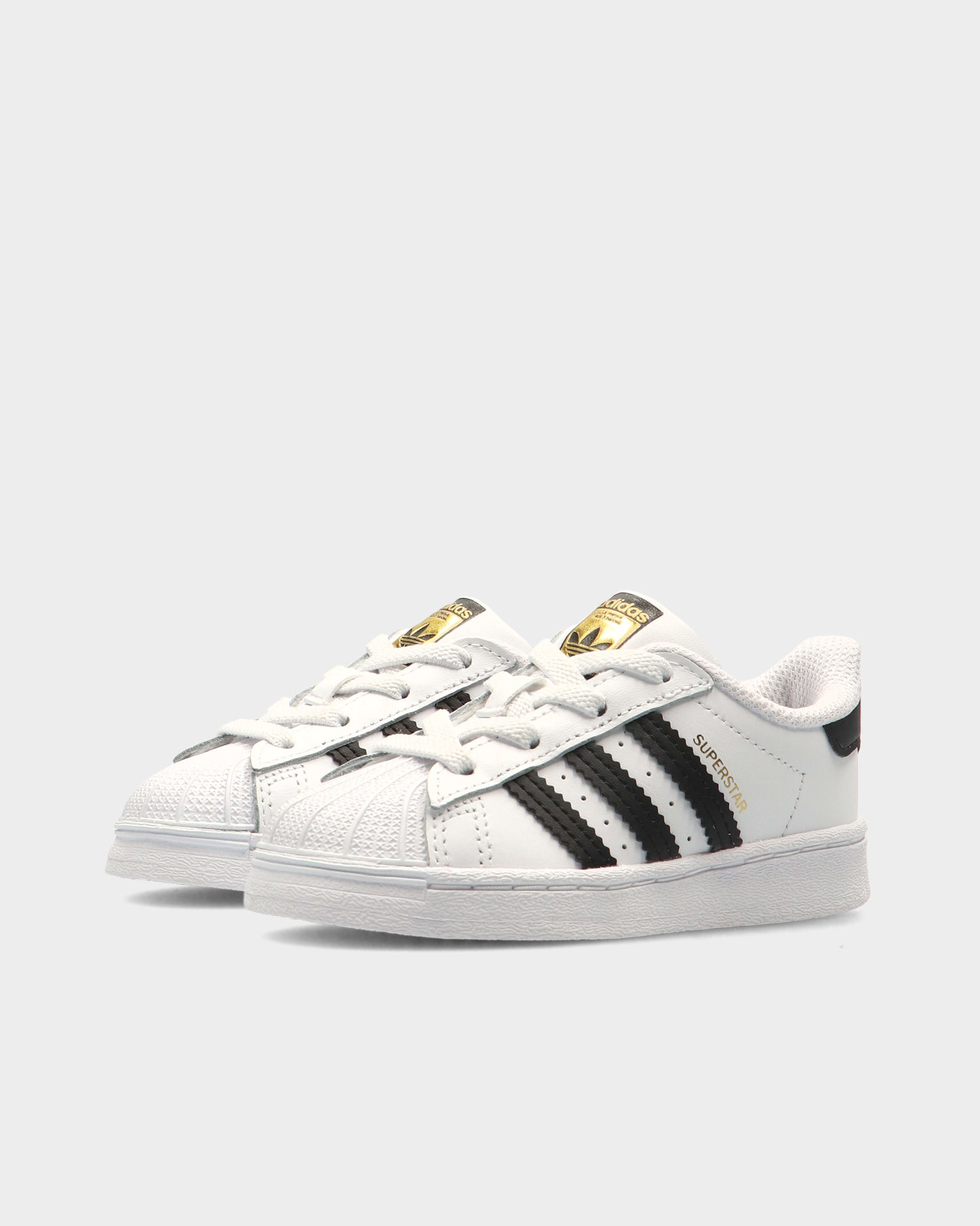Adidas Superstar El I (toddler) Ftwwht/Cblack/Ftwwht