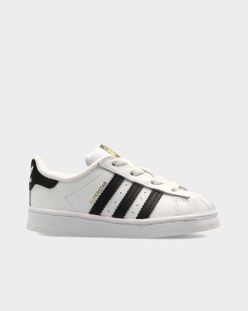 Adidas Adidas Superstar El I (toddler) Ftwwht/Cblack/Ftwwht