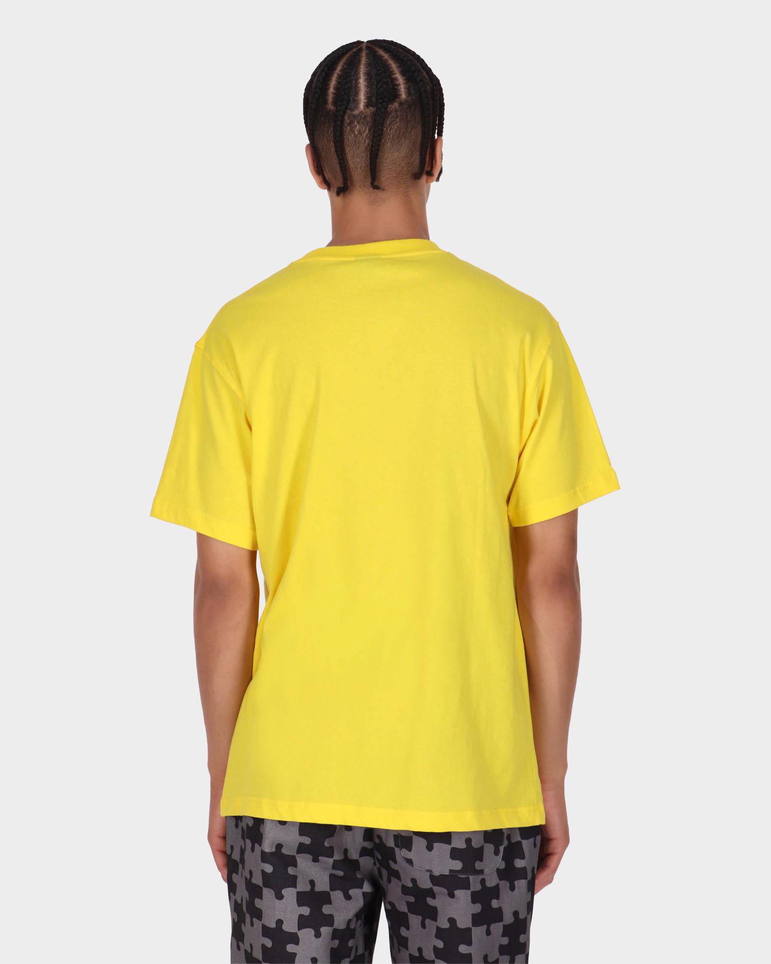 Dime Restoration Face T-Shirt Yellow