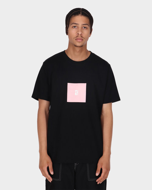 Poetic Collective Poetic Collective Box T-shirt Black/Pink