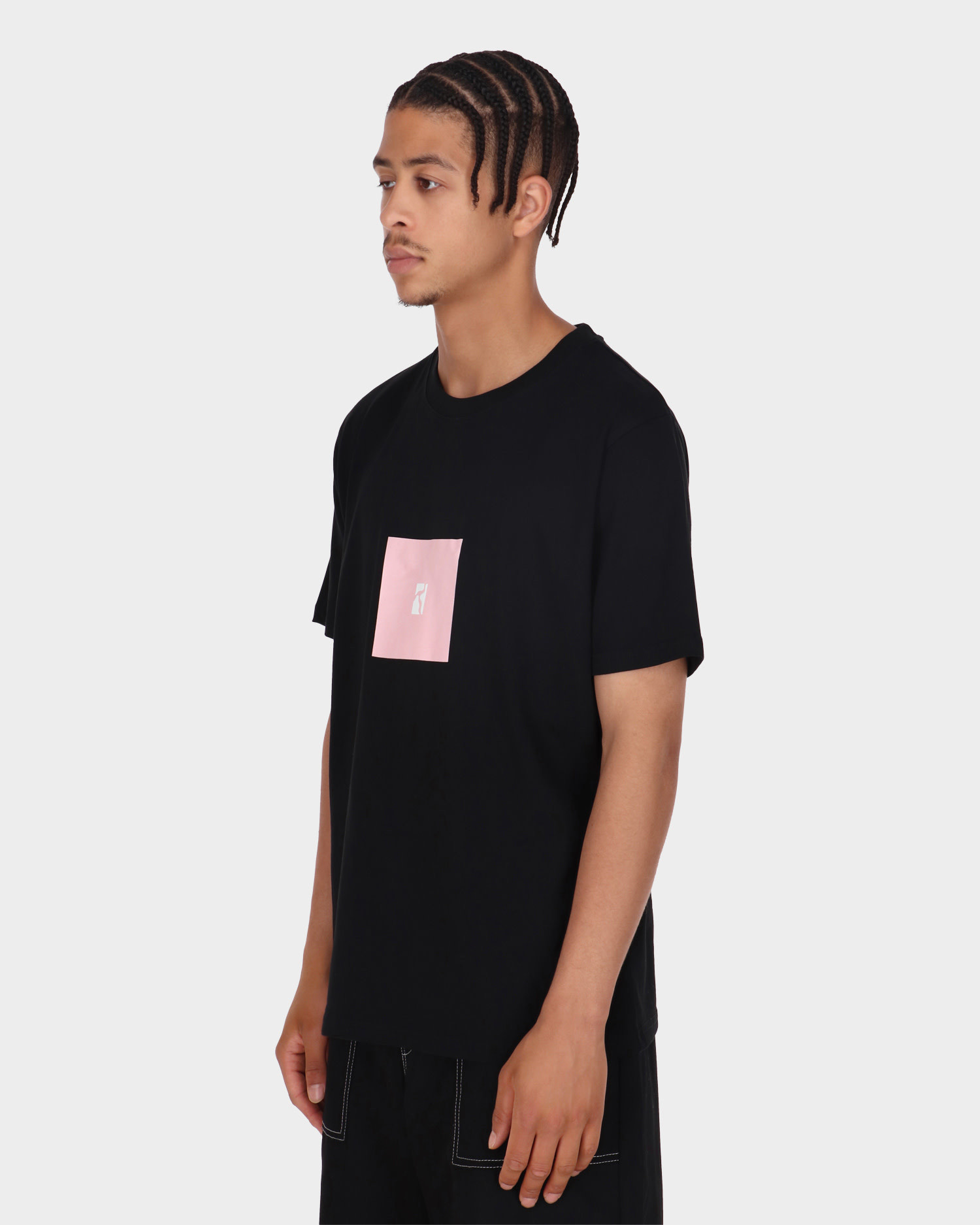 Poetic Collective Box T-shirt Black/Pink