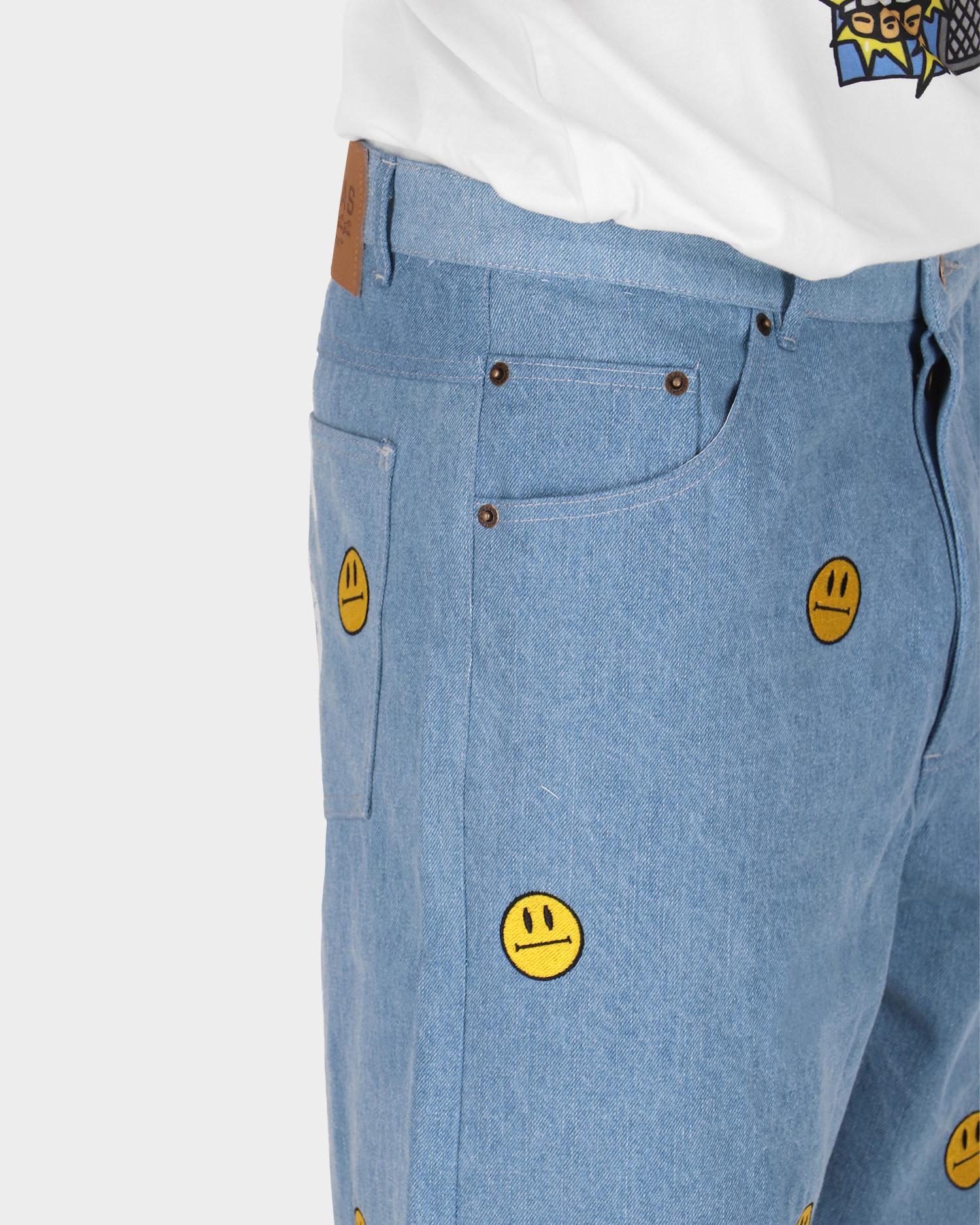 Helas Smiler Pant Light Blue