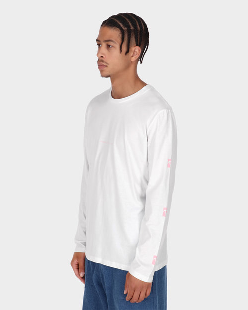 Poetic Collective Poetic Collective Longsleeve T-shirt White