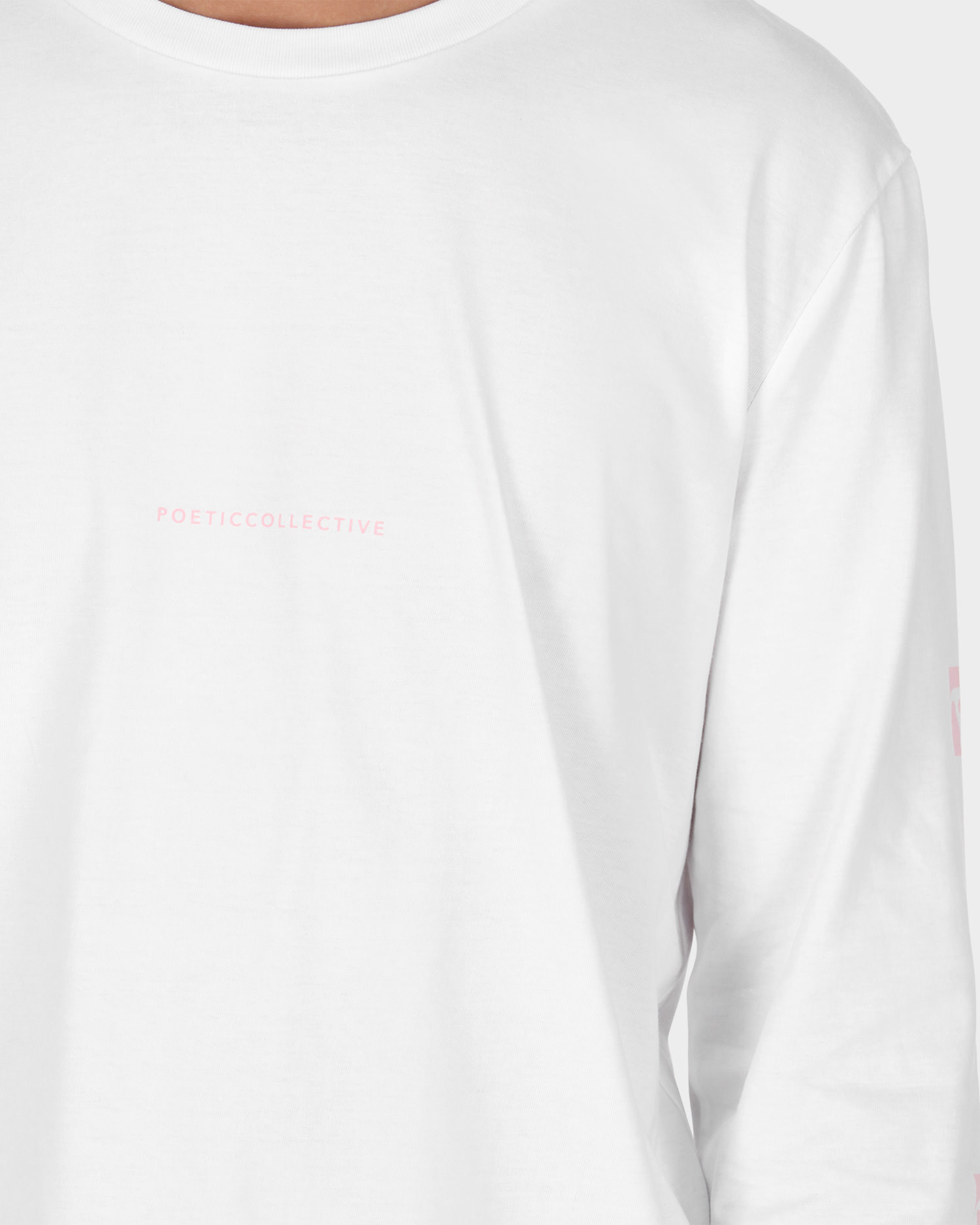 Poetic Collective Longsleeve T-shirt White