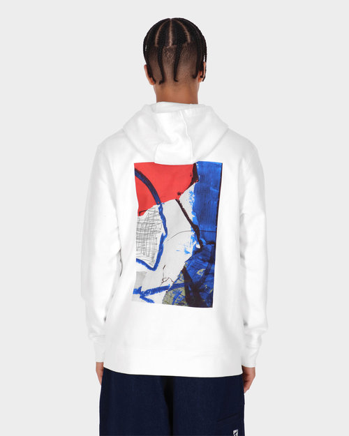 Poetic Collective Poetic Collective Painting Hoodie White
