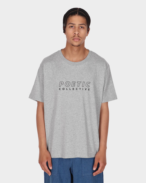 Poetic Collective Poetic Collective Sport T-shirt Grey