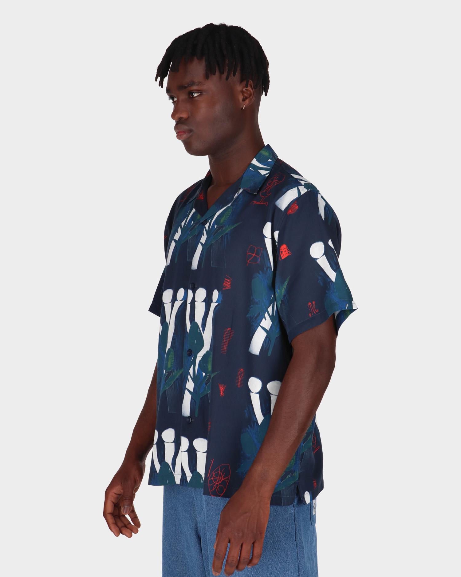 Carhartt Tom Krol Sauce Shortsleeve Shirt Flower Print