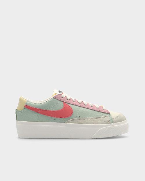 Nike Nike Blazer Low Platform Sea Foam/Pink Salt- Sea Glass- Saturn Gold