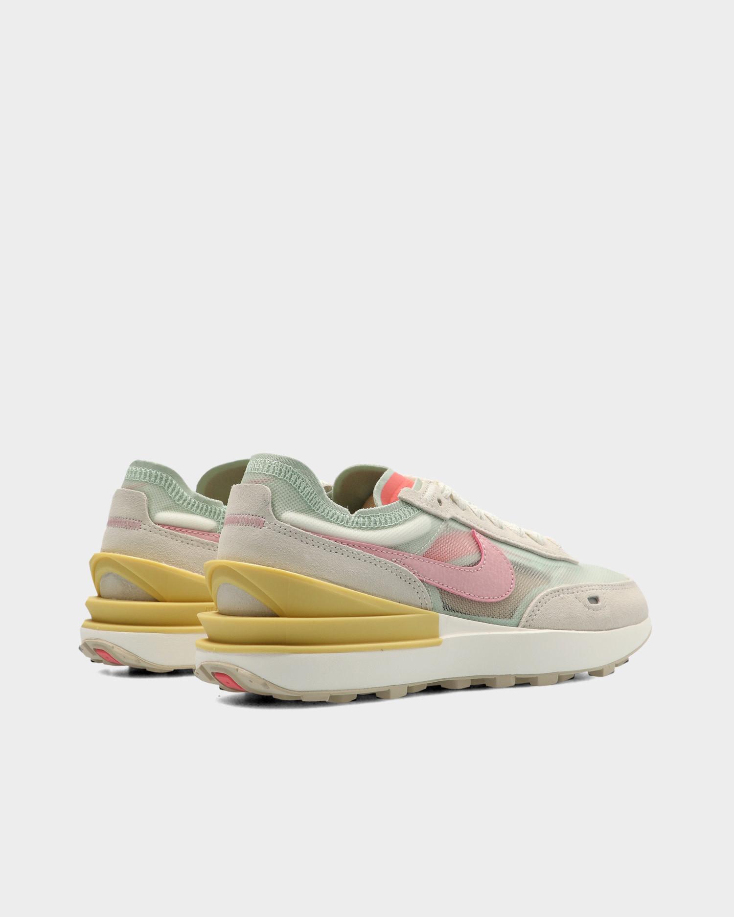 Nike Waffle One Sea Foam/Pink Glaze- Sea Glass- Saturn Gold
