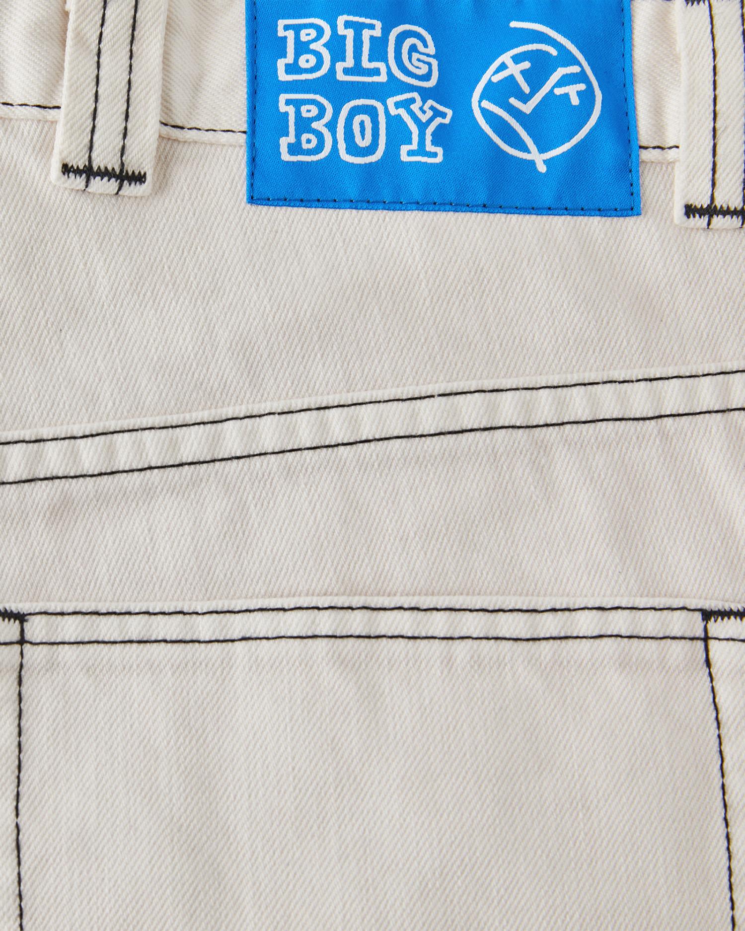 Polar Big Boy Short Washed White
