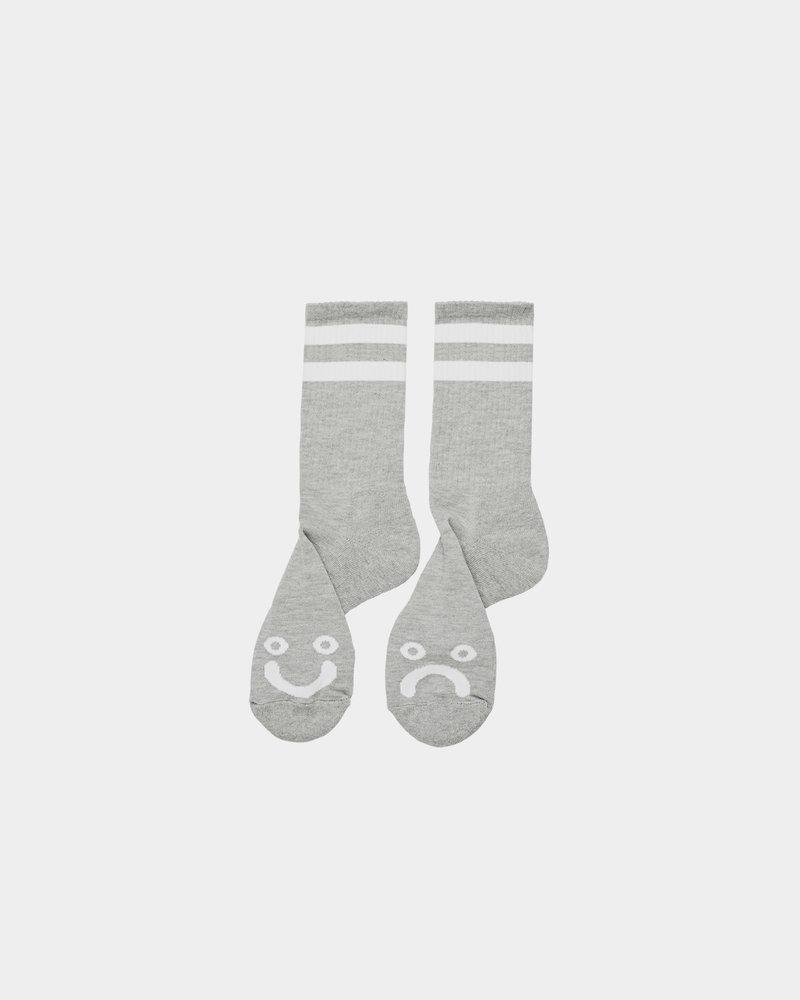 Polar Polar Happy Sad Socks Heather Grey