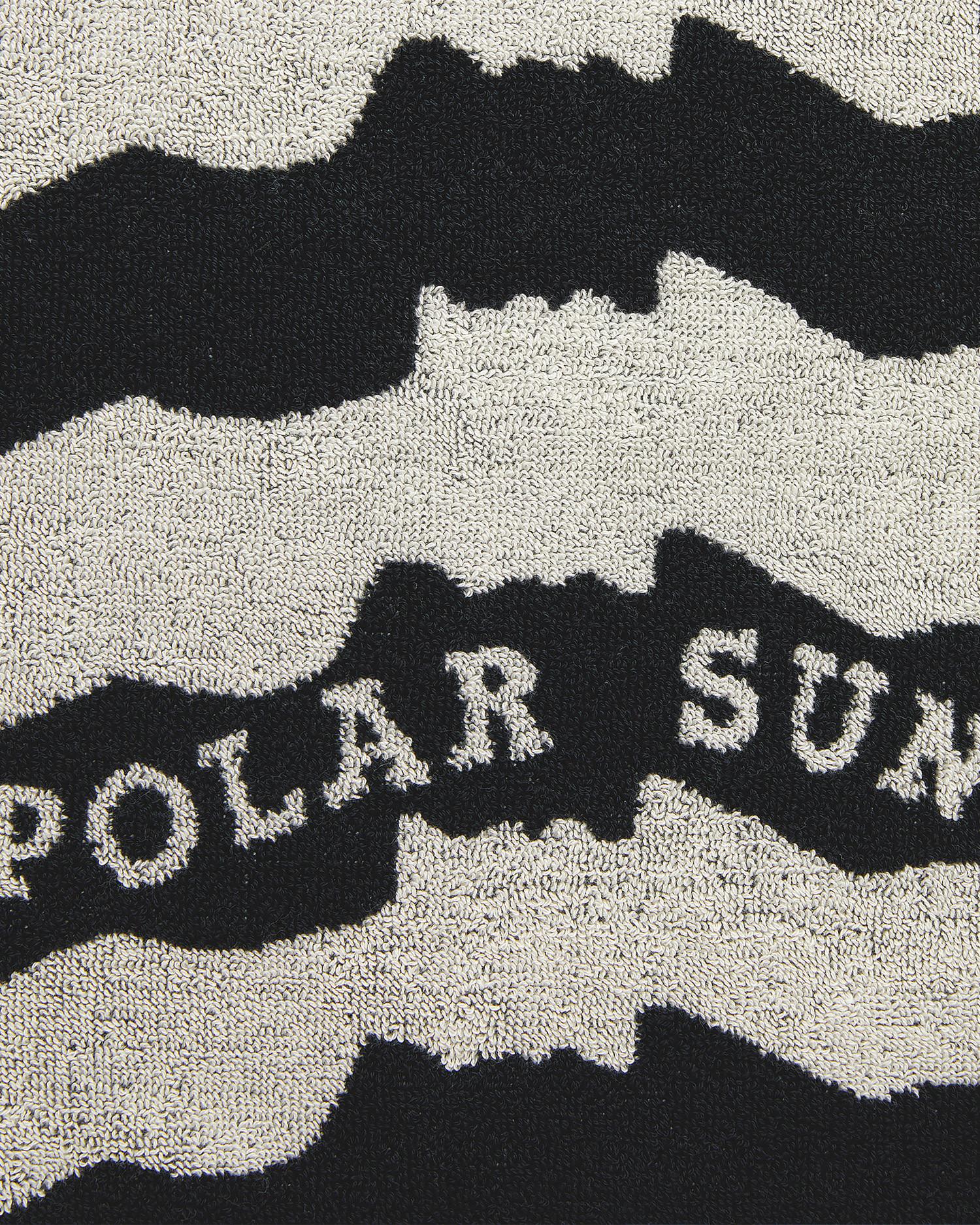 Polar No Complies Faces Beach Towel Black 70x140