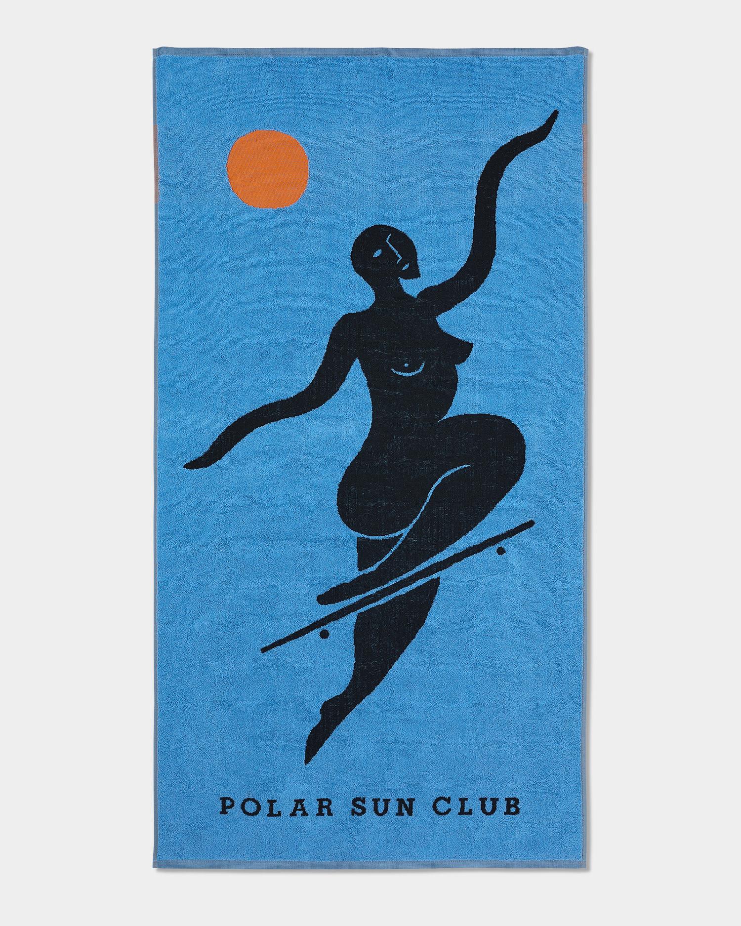 Polar No Complies Forever Beach Towel Blue 70x140
