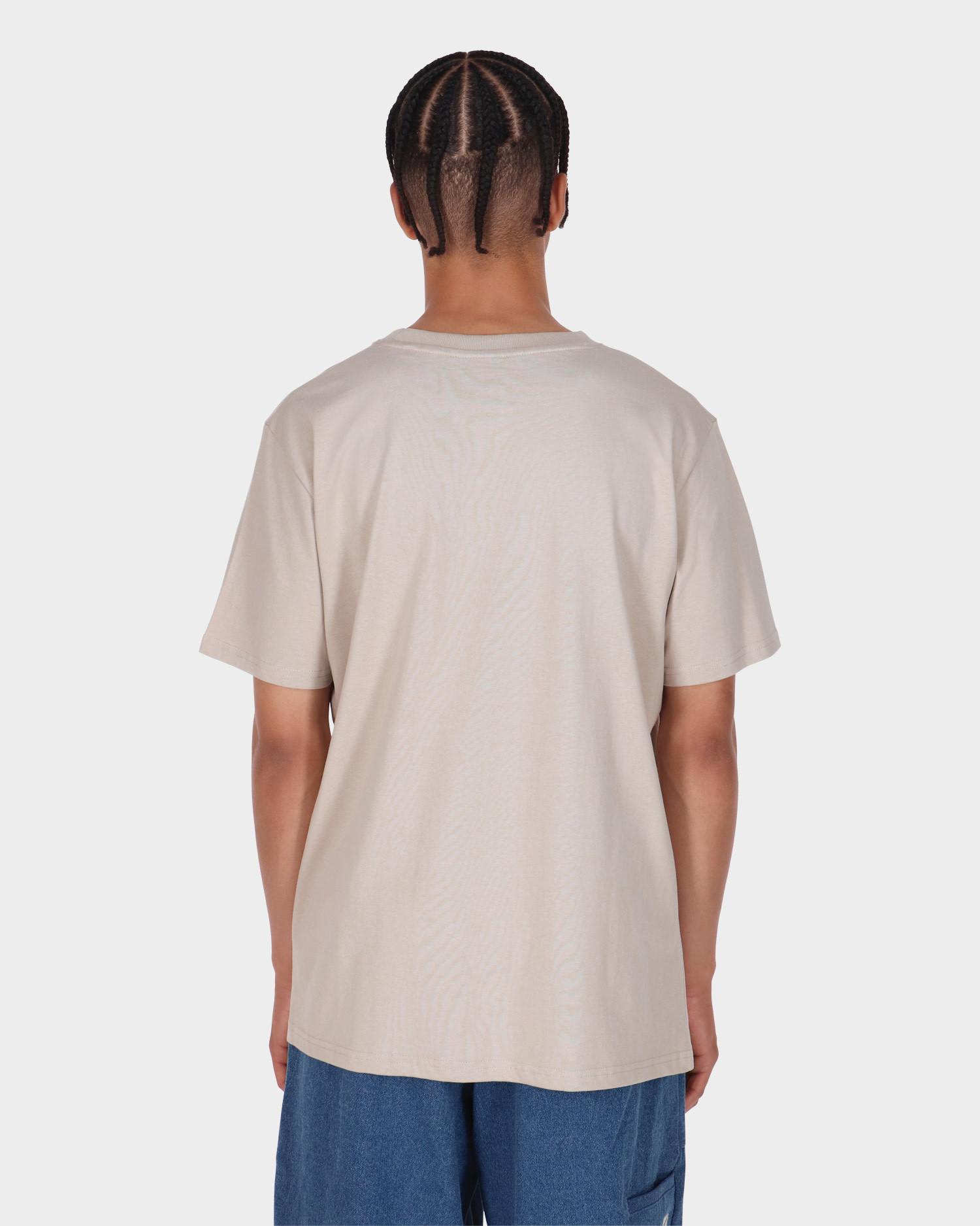 Poetic Collective Half And Half T-shirt Sand