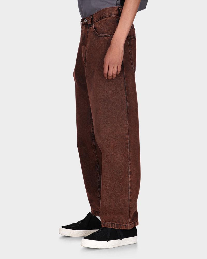 Polar Polar Big Boy Jeans Pants Orange Black