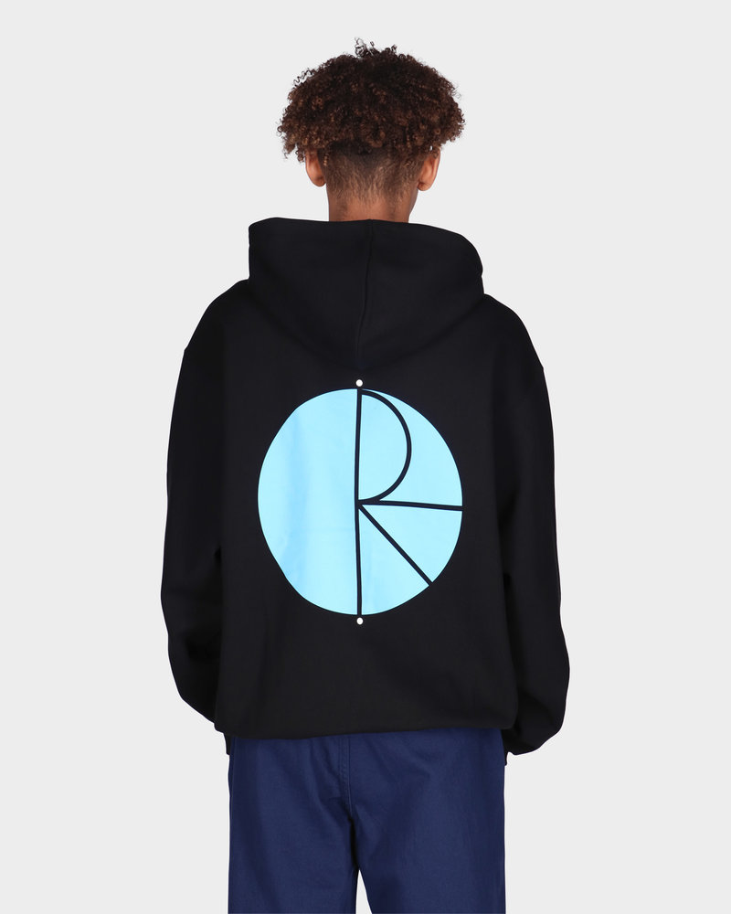 Polar Polar Fill Logo Hoodie Black/Blue