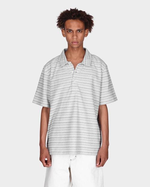 Polar Polar Multistripe Polo Shirt Blue