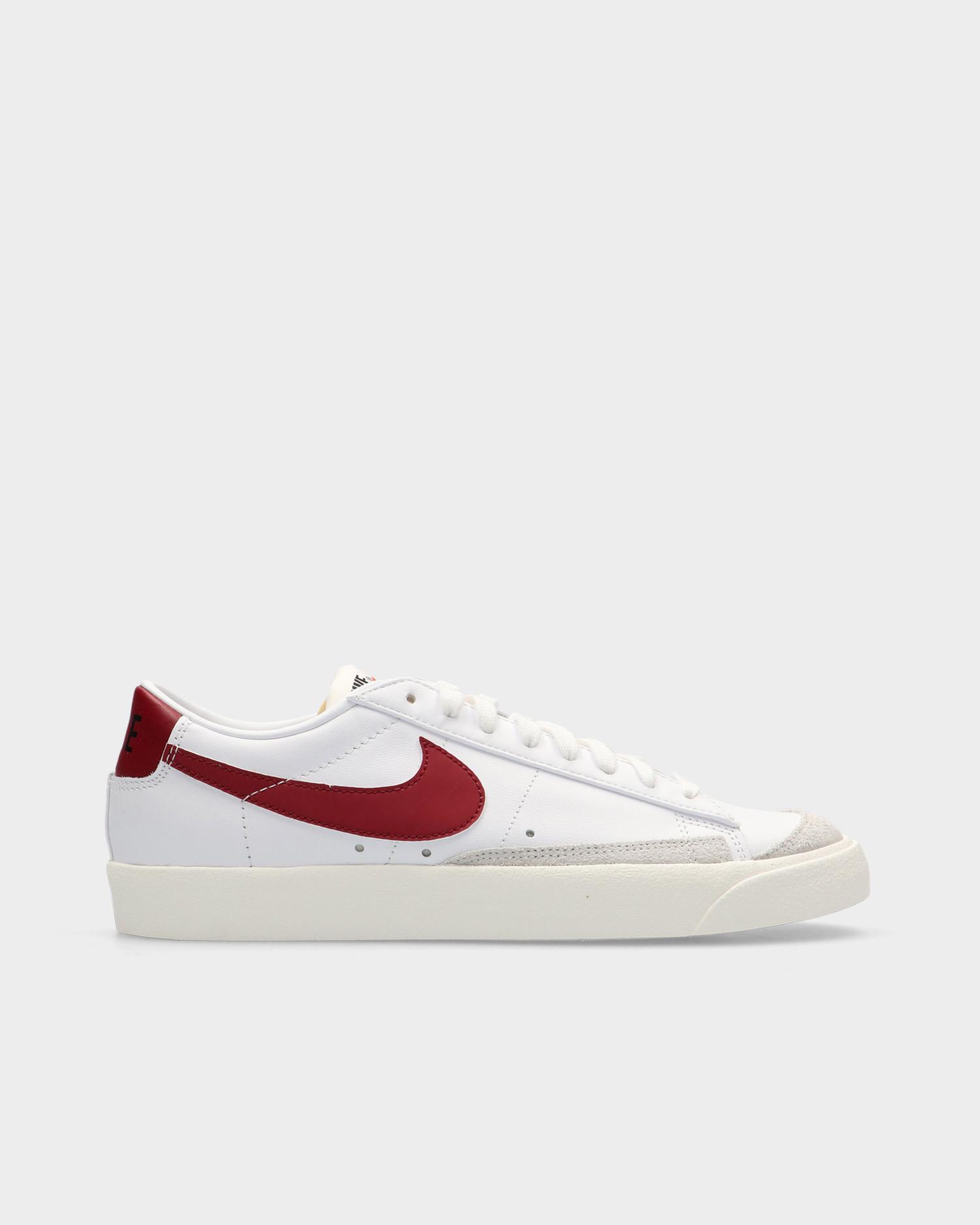 Nike Blazer Low '77 Vintage White/Team Red-White-Sail