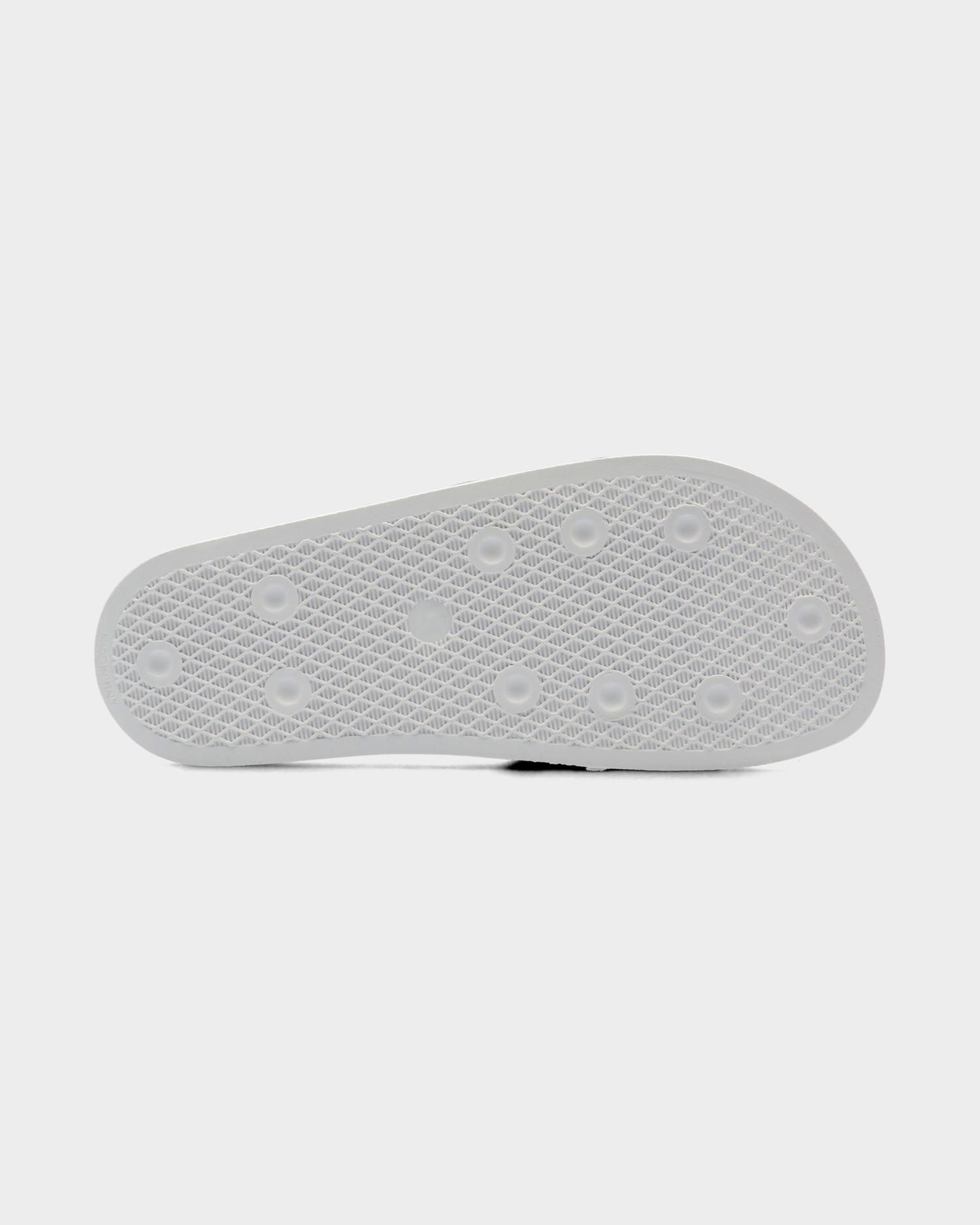 Adidas Adilette White/Cblack/White
