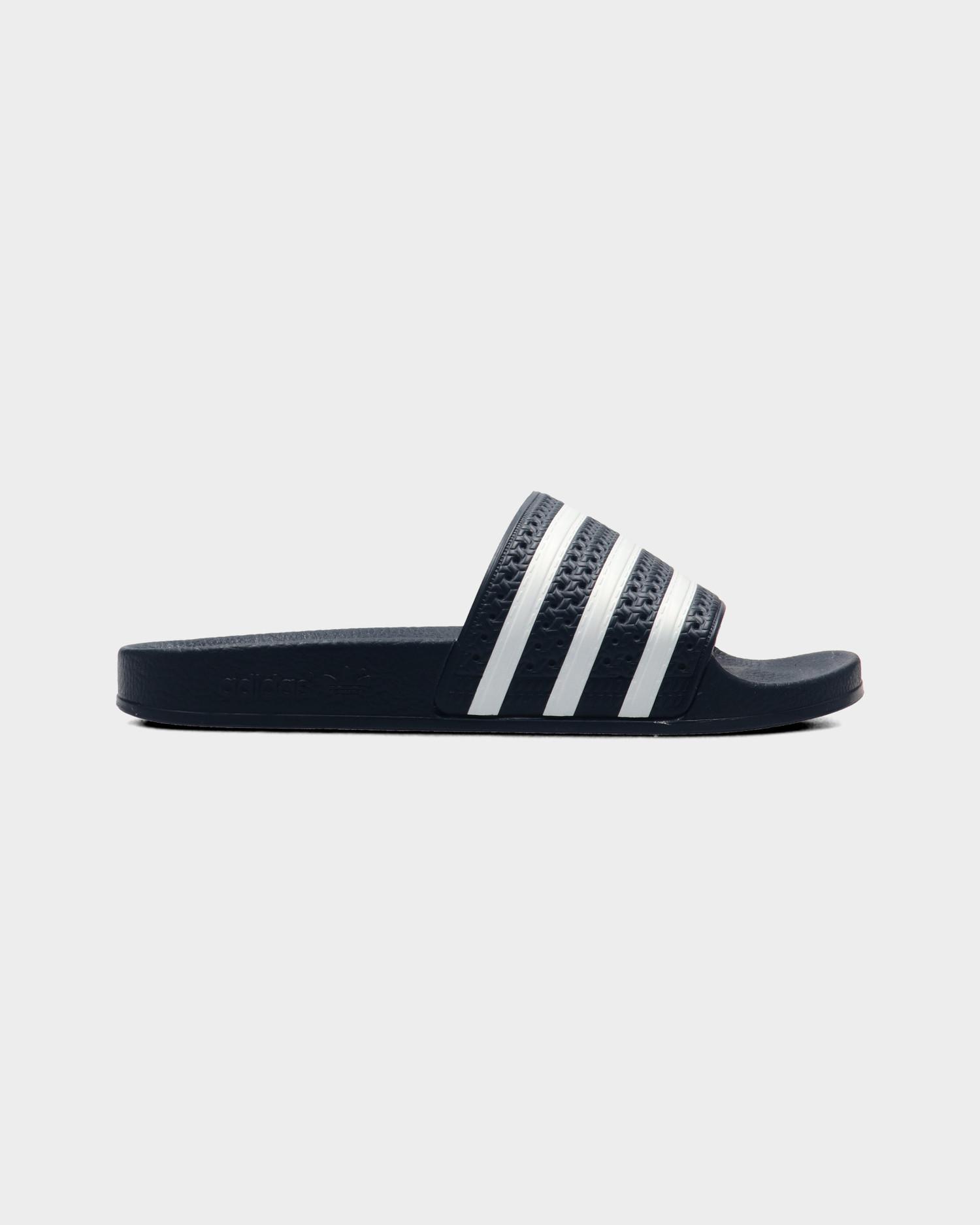 Adidas Adilette  AdiBlu/White/AdiBlu