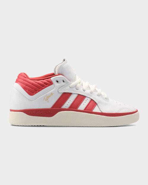 Adidas Adidas Tyshawn Mid Footwear White/Scarlet/Footwear White