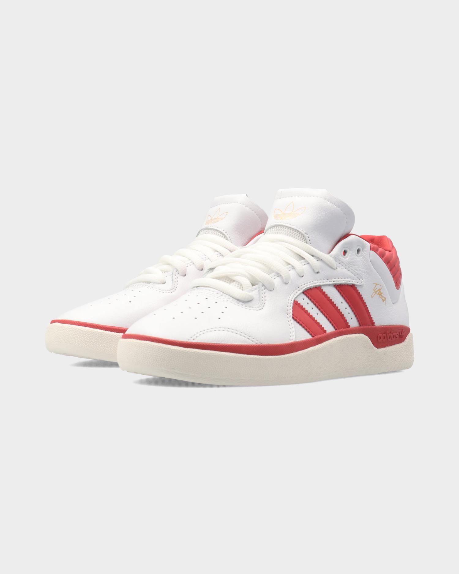 Adidas Tyshawn Mid Footwear White/Scarlet/Footwear White