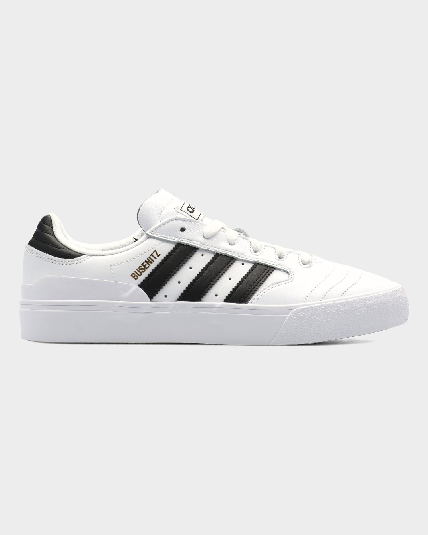 Adidas Busenitz Vulc II Footwear White/Core Black/Gold Metallic