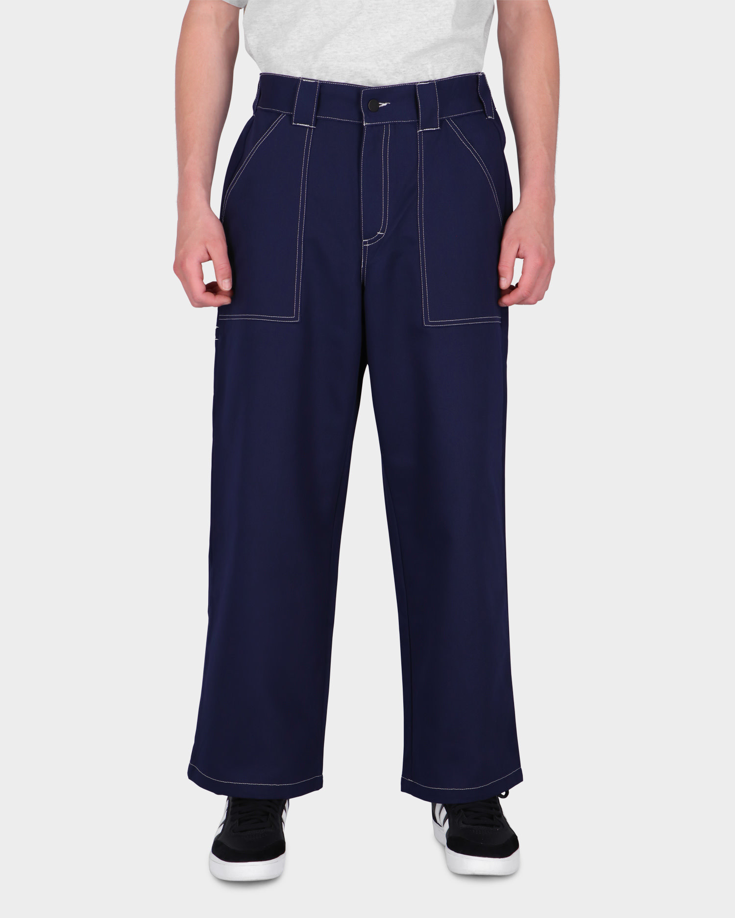Poetic Collective Painter Pants Navy Blue