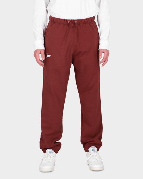 Patta Patta Basic Jogging Pants Madder Brown