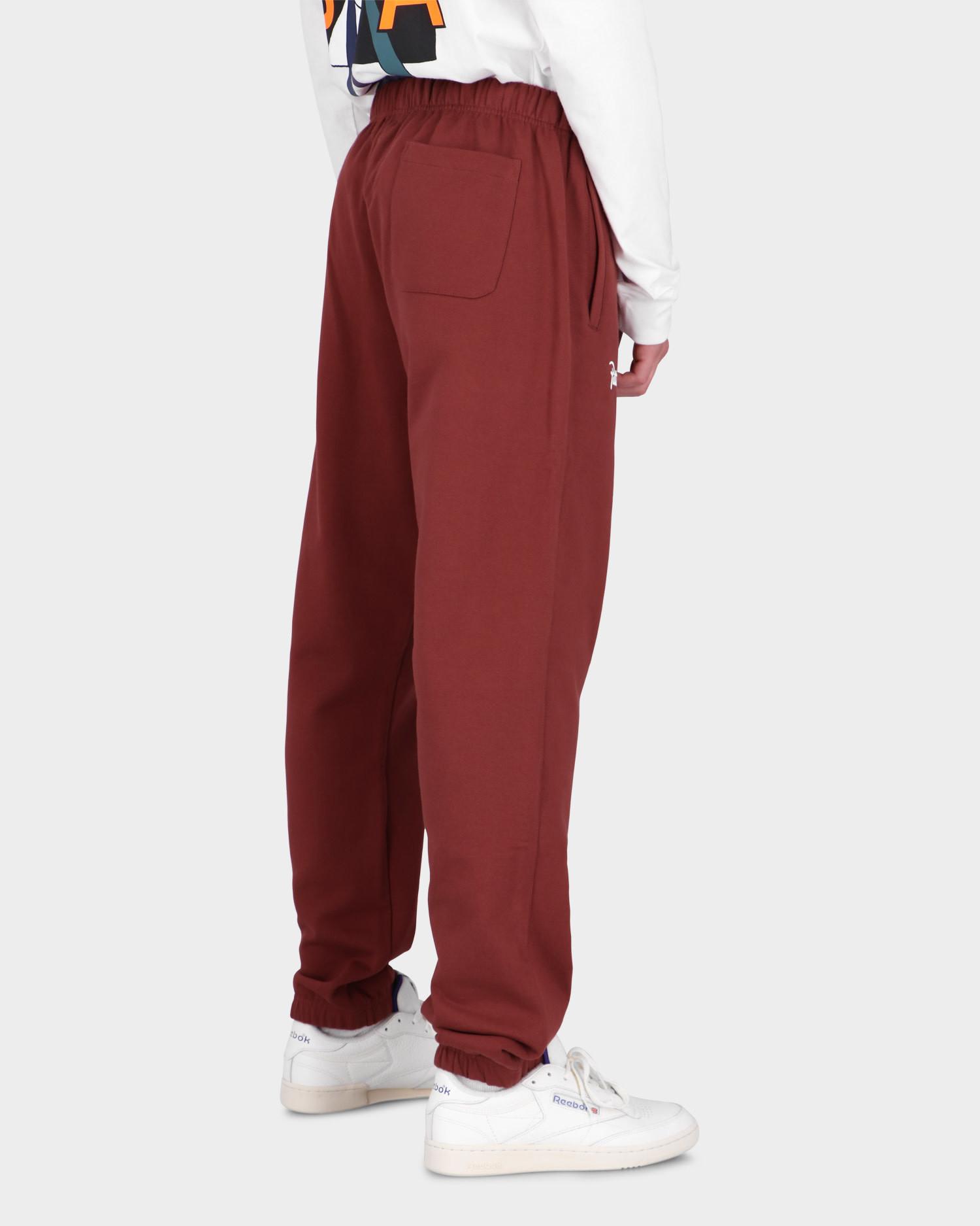 Patta Basic Jogging Pants Madder Brown
