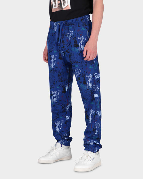 Patta Patta Father & Son Jogging Pants Sodalite Blue/Multi