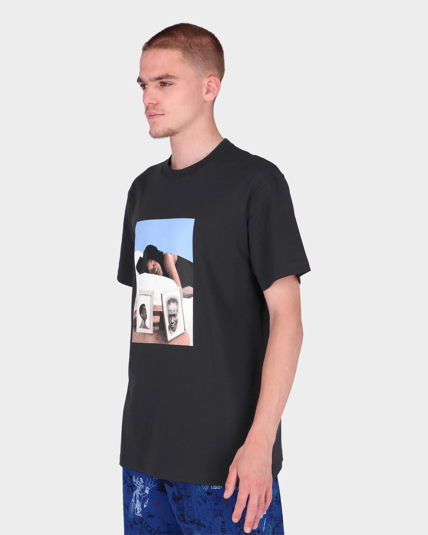 Patta Heroes T-Shirt Black