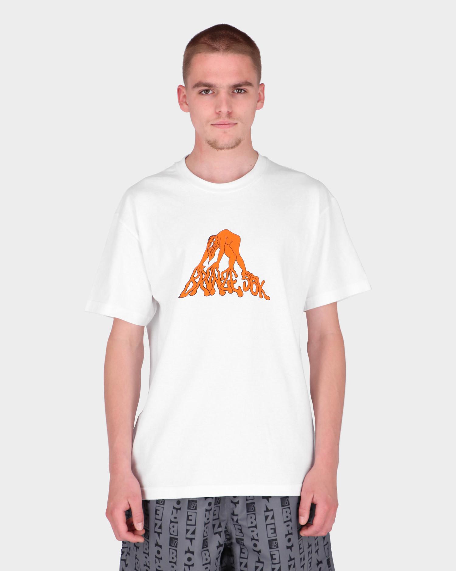 Bronze Mutant T-Shirt White