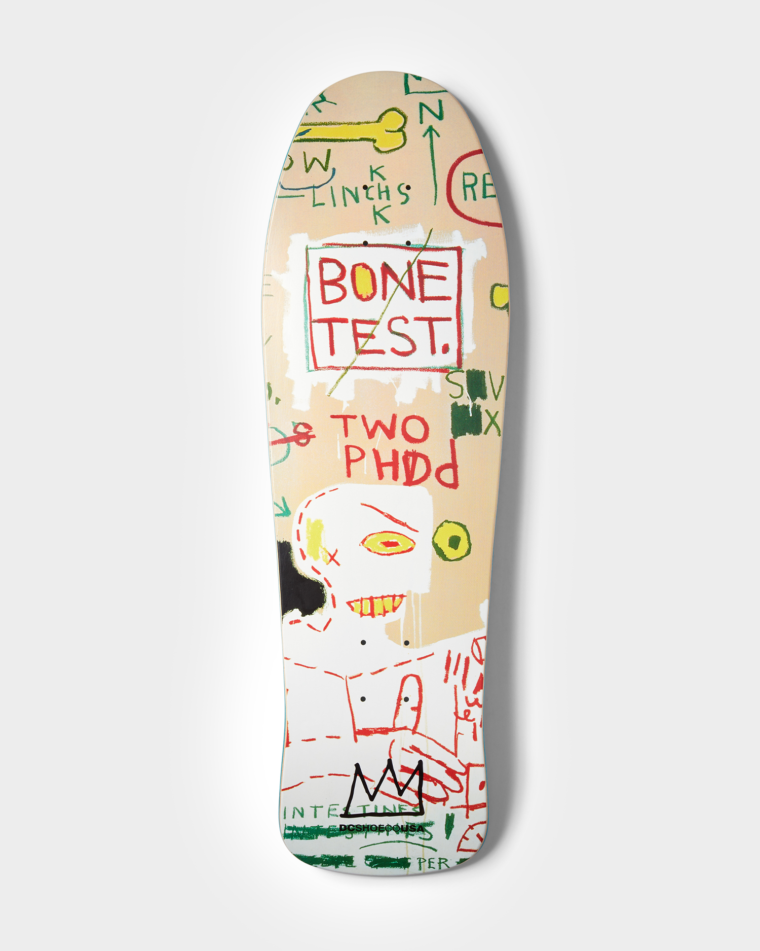 DC X Basquiat Deck Carbon Dating System vs. Scatchproof Tape